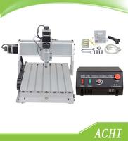 Free Shipping Engraving Machine 220V CNC 3040T-DJ Cutting Machine CNC 3040 Route Engraver Milling Machine