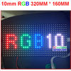 10mm pixel  full color module indoor/semi-outdoor hub 75 1/8 scan 320*160mm 32*16 pixel smd 3 in 1 p10  rgb led display module
