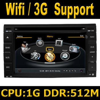 S100 Car GPS DVD Head Unit Sat Nav for Nissan Navara / Frontier 2001 -2011 with Wifi / 3G Host TV Radio Stereo Player 1G CPU