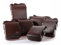 Business&amp;leisure PU leather shoulder man&#39;s bag with 4 sizes,kangaroo bag,shoulder bag(11-436)