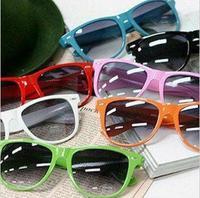 Wholesale 2014 Fashion New Goggles Unisex Wayfarer New 80s Style Joint Multi-coloured Summer Shade Sunglasses 80017