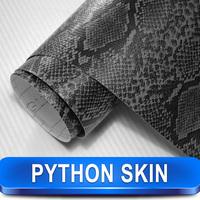Fast Shipping Snake Skin Car Wrap Printed Fabric Vinyl Car Wrap