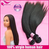 "brazilian hair,wholesale,12""-30"",free shipping,100% brazil virgin hair, human hair extension ,hair weft,silky straight,1b"