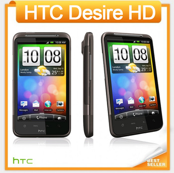 Original HTC Desire HD G10 A9191 Unlocked Mobile phone Singapore post Free Shipping