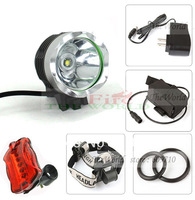 Bike Light  T6 Bicycle Light 12W 1800 Lumens Front Light LED HeadLamp + 8.4v Battery Pack (4~4.5 Hours/times )+ Charger