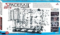 New arrivals !! 2012 NEW ITEM  !  Space Rail Level 9 DIY Educational ! New space warp ! 68M rail level 9 marble roller coaster!