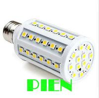 12W led bombillas 220V E27 E14 led corn lamp bulb 60LED 5050smd 360 degree for home indoor Warm/Cool White Free shipping 2pcs
