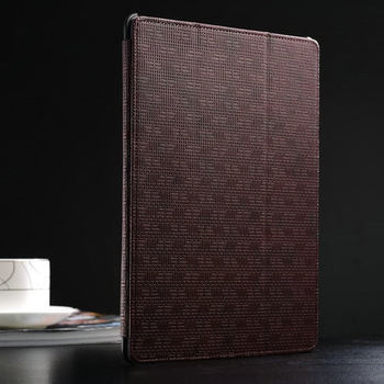 luxury Flip leather cover for ipad 2 /3/ 4 Magnetic smart case for ipad 3 sensational cover for ipad 4 with free touch pen gift