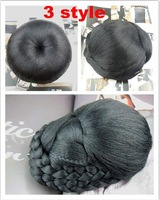 New Fashion Stylish Dish Hair Dome Bun Wig  Accessories Gift  Good Quality Wholesale