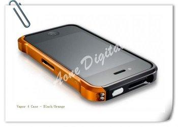 for iphone4 4s various colors Vapor 4 aluminum  bumper metal Case
