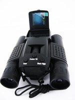 "8.0 Mega Pixels 1.44"" TFT LCD Digital Camera with Telescope and 3MP CMOS Sensor Binocular digital camera Free Shipping  DT-07"