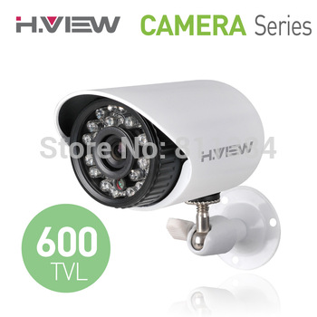"1/4"" CMOS 600TVL IR Day and Night Security Weatherproof Surveillance Outdoor CCTV Camera with Axis Bracket"