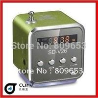 TOP SELLING! Digital Portable Mini Speaker  MP3 Player  Micro SD TF Card FM Radio sound box