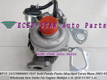 KP35 54359700005 54359880005 Turbo Turbocharger FIAT Dobl Panda Punto Idea OPEL Corsa Musa 2003-05 1.3L Multijet SJTD Y17DT 1.2L