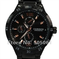2013 New Curren brand Men sports Watch men full steel watch business and generous man military watches M918A Free Shipping