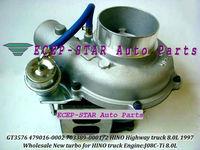 GT3576D GT3576  479016-0002 24100-3521C TURBINE TURBO Turbocharger FIt  For HINO Highway Truck 8.0L 1997- J08C-Ti  J08C Ti NEW