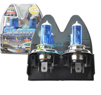 New 2x 9003 H4 6000K Xenon Car HeadLight Bulb Halogen Light Super White #005 2717