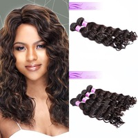 Mix 2pcs lot Deep wave virgin malaysian hair weave bundles natural color can be dye free shipping natural malaysian human hair