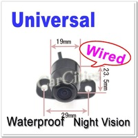 Holiday sale Universal car parking camera,Nightversion,waterproof,rear view camera Pixels 652*492