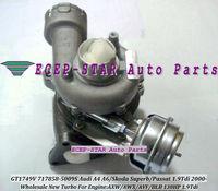 NEW GT1749V 717858-5008S 717858-5009S 038145702N Turbocharger For AUDI A4/A6,SKODA Superb,VW PASSAT TDI AWX AVF 1.9/4 1.9L 130HP