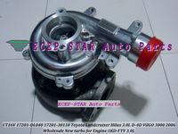 NEW CT16V 17201-OL040 17201-30110 Turbine TURBO Turbocharger Fit For TOYOTA Hilux 3.0L D4D ViIGO 3000 Engine 1KD-FTV 2005-