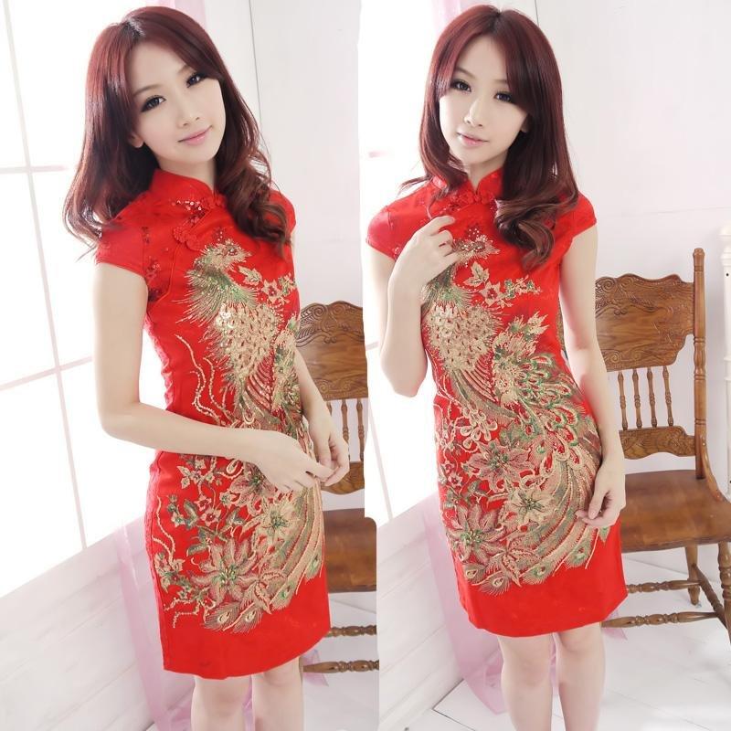 Женское платье Aifuliandi cheongsam qipao evening dress9707 вечернее платье mermaid dress vestido noiva 2015 w006 elie saab evening dress