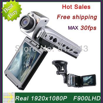F900 1920 * 1080P Car Camera 12MP 30fps Registrator Car DVR Full HD Video Recorder Car F900LHD Novatek Chipset DVR Recorder