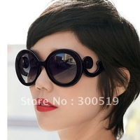 G1313 100% UV material Big Size lady gaga Balrog style sunglasses(5color for choose)