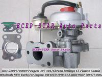 K03 53039700009 706977-0002 VVP1 Turbocharger For PEUGEOT 307 406/CITROEN Berlingo C5 Picasso Xantia DW10TD 1998- 2.0L HDI 90HP