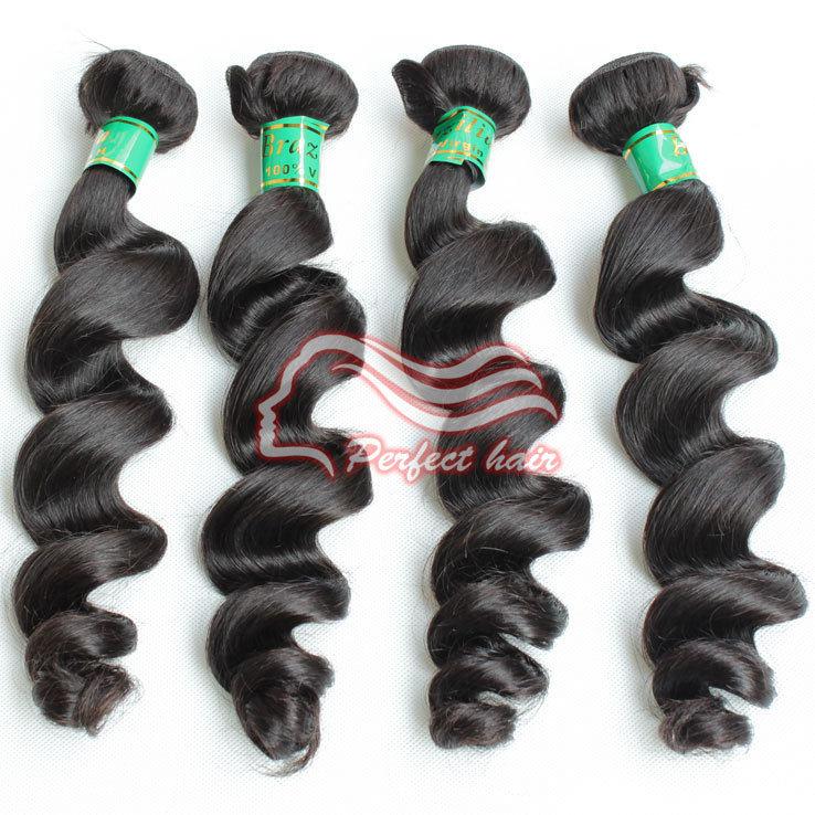 Hair Mix 162024 Loose Wave Brazilian Virgin Hair Extensions Natural