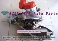 GT1749S 715924-0001 28200-42610 Turbocharger FOR KIA Pregio Bongo Sportage K2500/HYUNDAI 1 Ton Truck/H-100 Bus D4BH 4D56TCi 2.5L