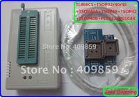 Free Shipping!Russian Manual V6.0 MiniPro TL866CS USB Universal Programmer/Bios Pro 13143chips/TSOP32/40/48/TSOP40+PLCC32/44