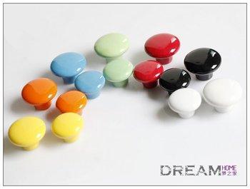 Big sale 10pcs/lot 38mm Ceramic knob / Kids Cabinet DRAWER Pull KNOB/ Dresser knob pull/ Kitchen cabinet knob