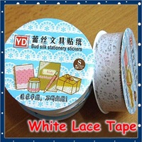 [FORREST SHOP] High Quality Korea DIY PVC Decoration Adhesive Lace Tape Stickers For Gifts (15 pieces/lot) FRS-38