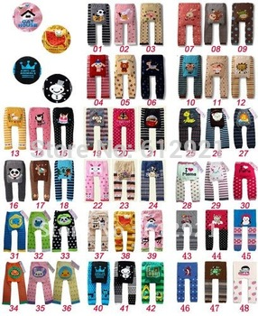 Wholesale 6pcs 2013 Fashion Baby Toddler Leggings Tight PP Pants for babies Boys Girls Socks Leg Warmer Clothes Free Shipping