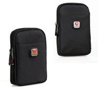 Nylon Zipper Passport Waist Bag for Men Travel Bags Fanny Pack Money Belt Bag Waist Pack Small Phone Pouch Bum Bag Waterproof