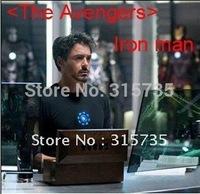 Christmas Party Using (The Avengers) Iron Man LED T-Shirt  EL T shirts 8 designs no need music. Free shipping