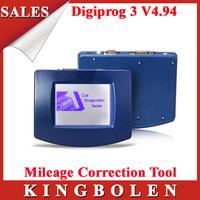 2015 New Arrival Car Diagnosis Scanner Digiprog III v4.94 Odometer Programmer With Full Set Digiprog 3 DHL Free