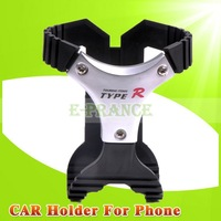2CPS/Lot New 2015 Universal Car Bracket Holder Stand Stylish Mobile Cell Phone Holder for Car Mountings Bracket for Dashboard