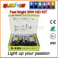 0.1 second fast start  slim ballast  F3 35W H1 H3 H4-1 H7 H8 H9 H10 H11 H13 9005 9006 HID kit 5000K 6000K 8000K ,xenon h11 5000k