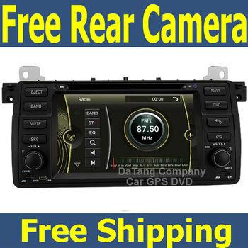 Car Head Unit Sat Nav DVD Player for BMW E46 M3 with GPS Navigation Radio Stereo Tape Recorder Russian Language Menu