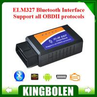 2014 Newest ELM327 Bluetooth V2.1 Interface Works On Android Torque Elm 327 Bluetooth OBD2/OBD II Car Diagnostic Scanner