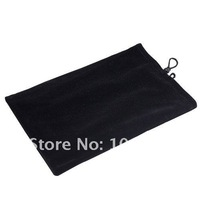 Drop shipping Black Sleeve Pouch Bag for 7 inch tablet PC, GPS, PDA, Protection Jacket,freeshipping