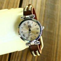 KOW029 wholesale high quality Cow leather ROMA watches women ladies fashion dress quartz wrist watch