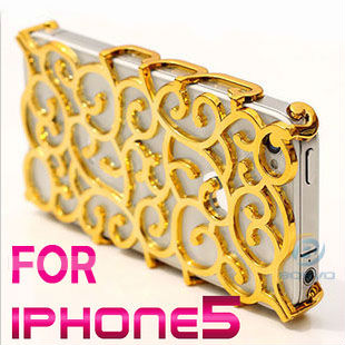 2014 Fashion luxury cell phone case for iPhone 5 iphone5 5s bling cover new arrival 1 piece free shipping(C