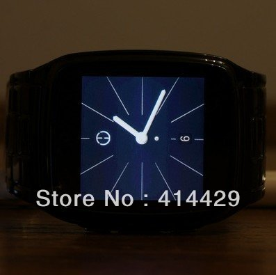 2012 Fashion Black Bluetooth 3G for Mp3/4 wrist watch touch screen phone(China (Mainland))
