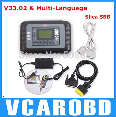 2014 Latest OBD2 programador chave New SBB programador chave V33.02 2014 versão transporte rápido(China (Mainland))
