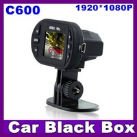 """2012 NEW Full HD 1080P Car DVR C600 with 12 IR LED lights,1.5"""" TFT LCD car video recorder with 4X Digital Zoom free shipping"""