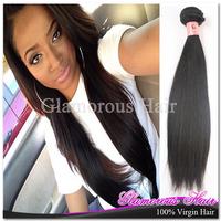 Hot Sell Peruvian Hair Weaving Natural Straight Hair Products 3pcs/lot
