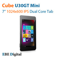 Original Cube U30GT Mini 7inch IPS Dual Core tablet pc RK3066 1.6GHz 4 Core GPU Dual Camea A9 1GB/16GB HDMI 1.4
